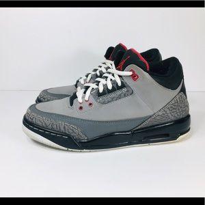 Nike Air Jordan 3 Retro Stealth Sz 6 Youth